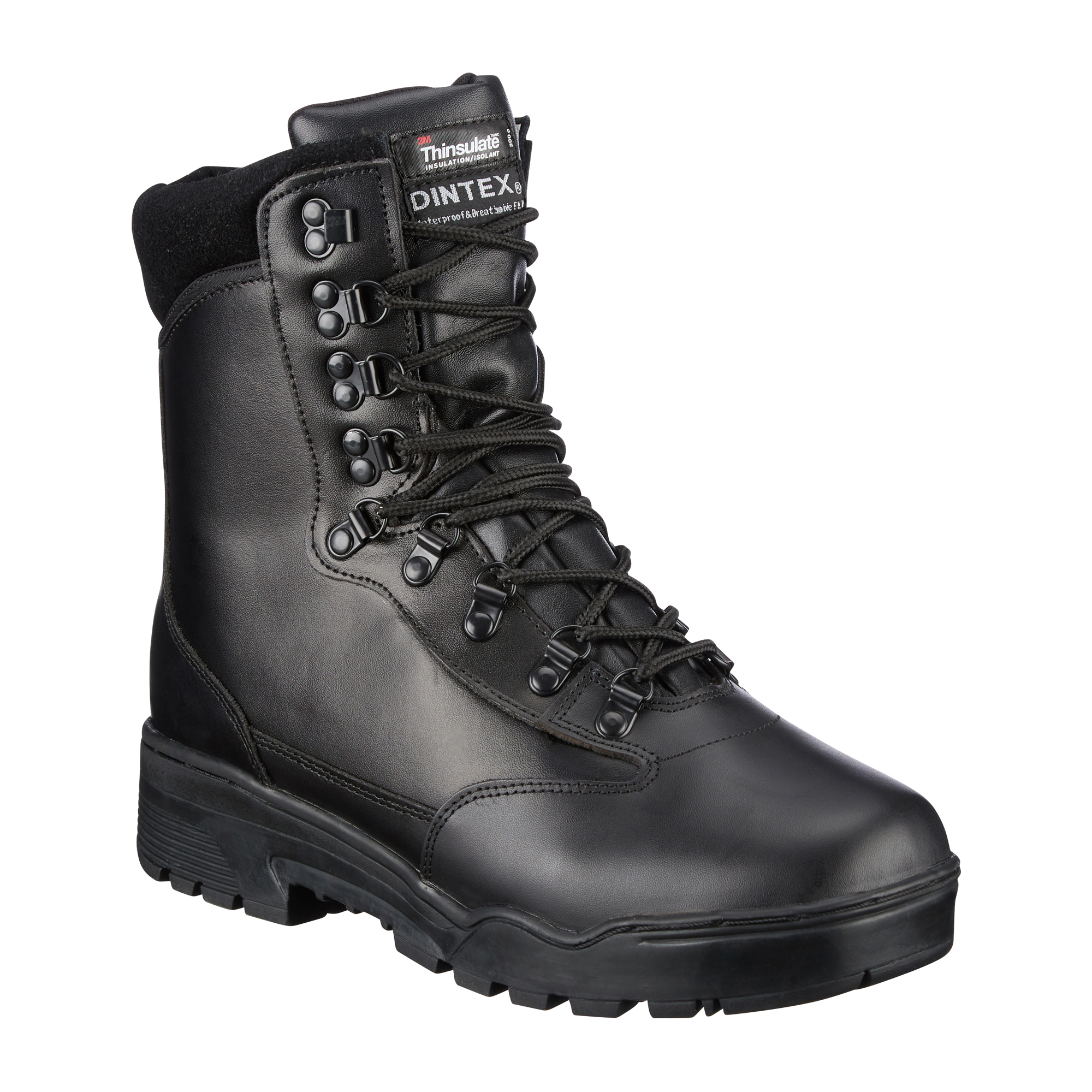 Mil-Tec Tactical Boots Leather