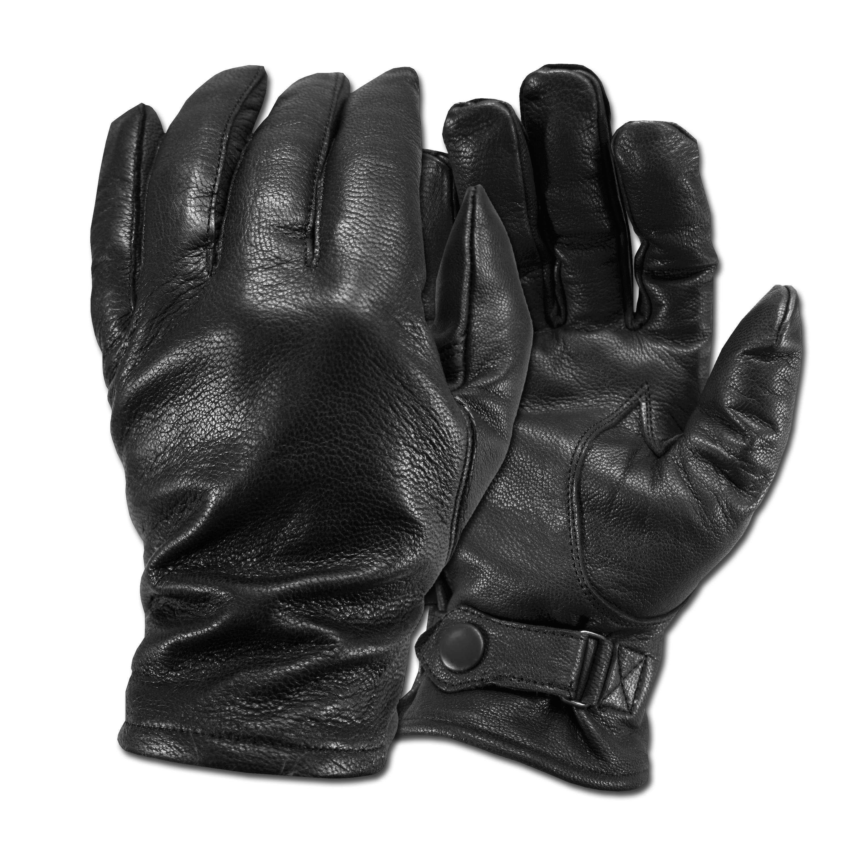 German Army Style Gloves black