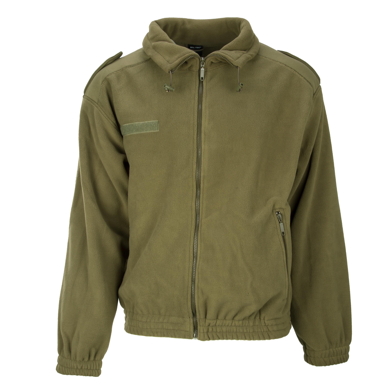 French Commando Fleece Jacket olive