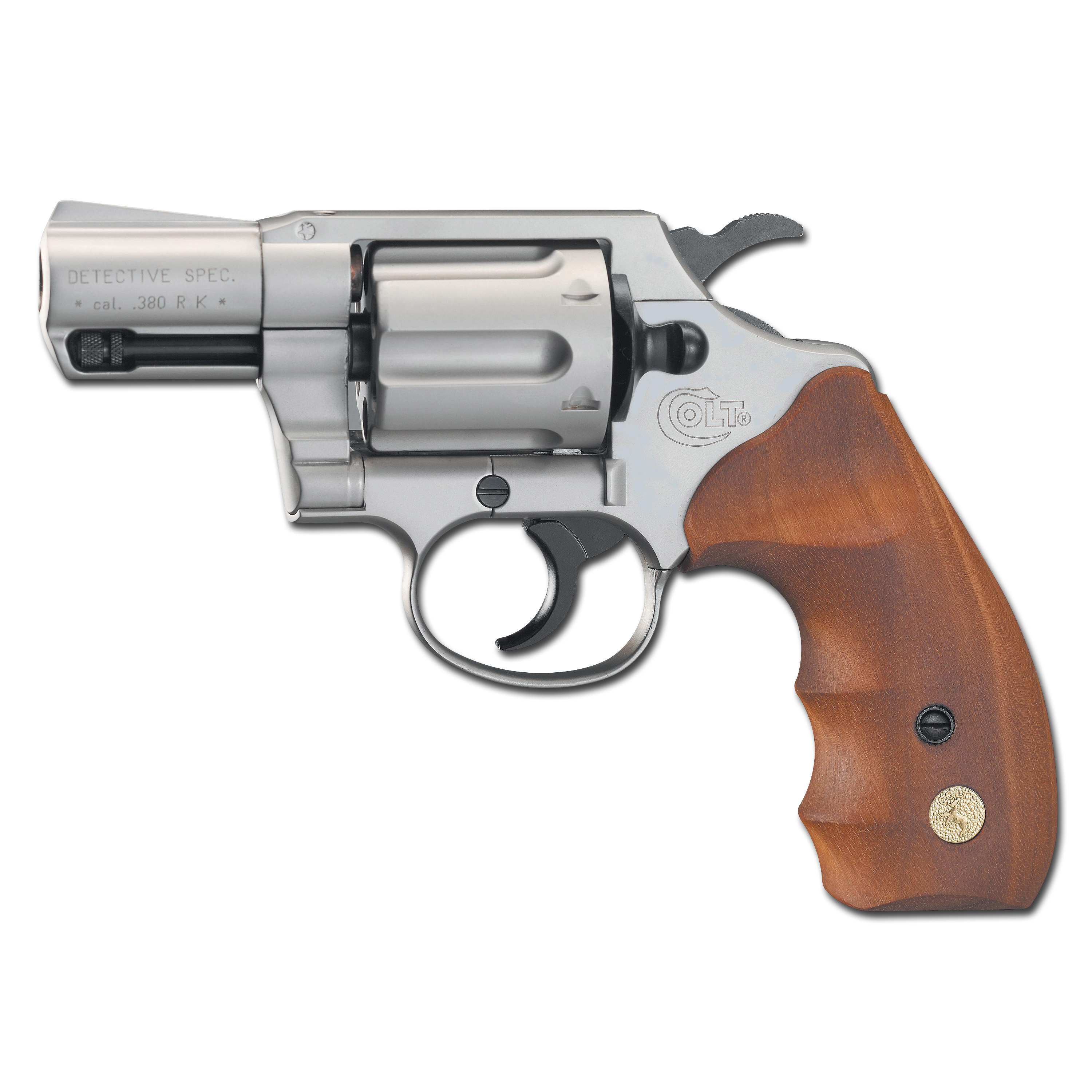 Colt Detective Special nickel-plated