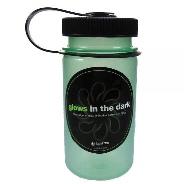 Nalgene Wide Neck Drink Bottle 0.35 L glow green