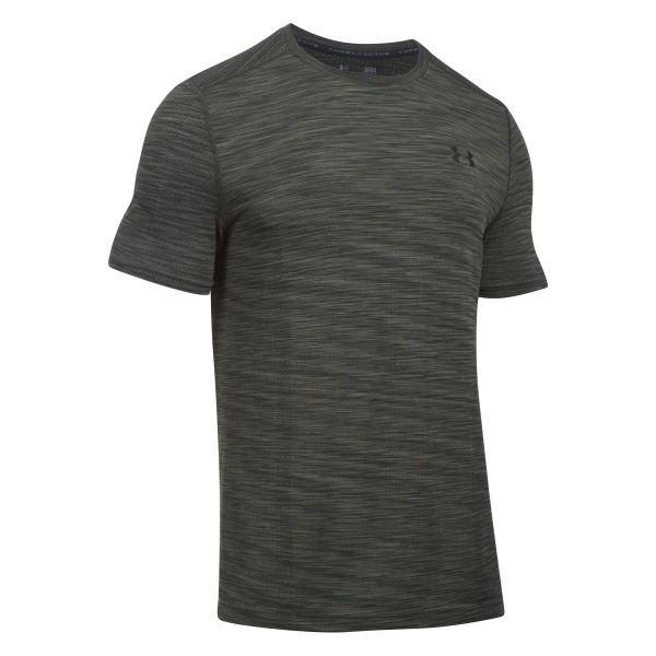 Under Armour Fitness Shirt Threadborne olive/black