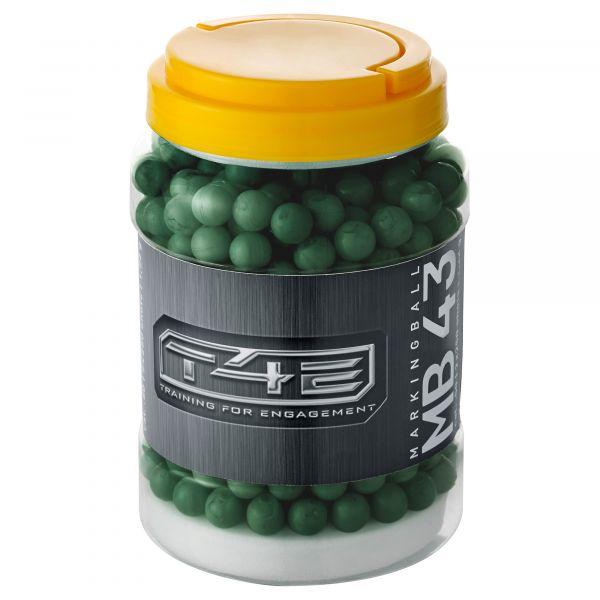 T4E Home Defense Marking Balls .43 Cal. 500 Shot green