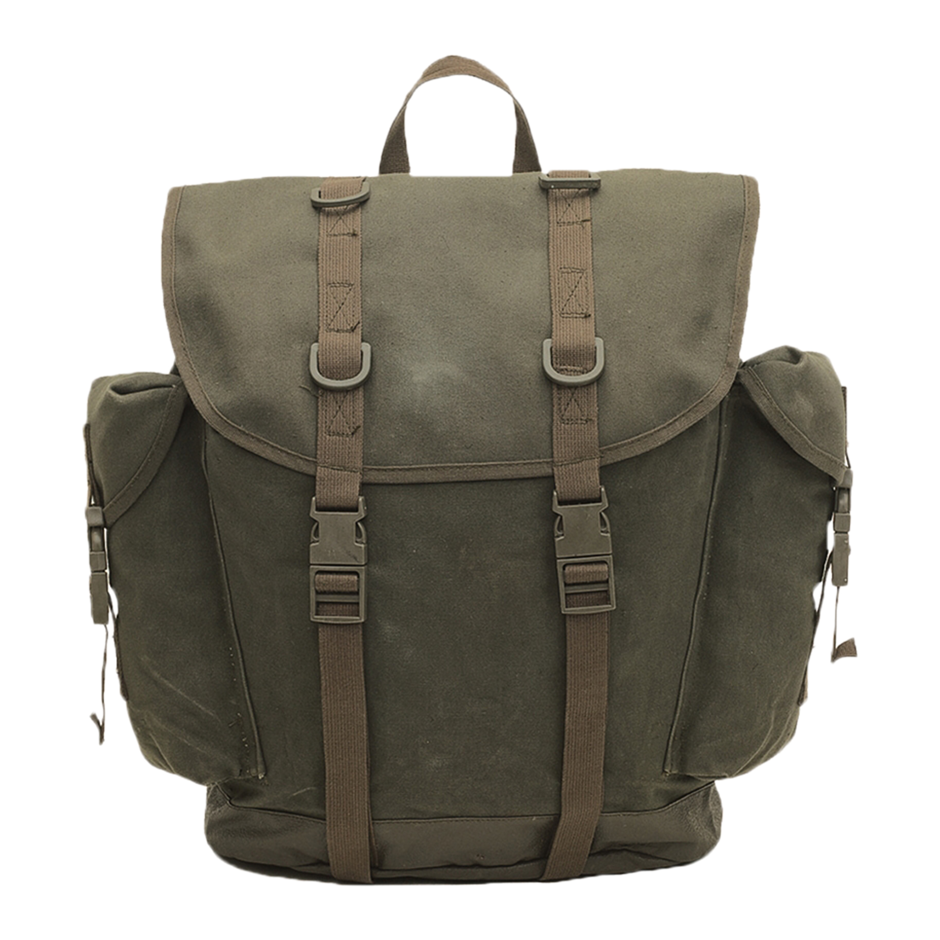 Used Mountaineer Backpack olive