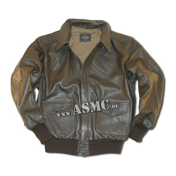 US A-2 Flight Jacket brown