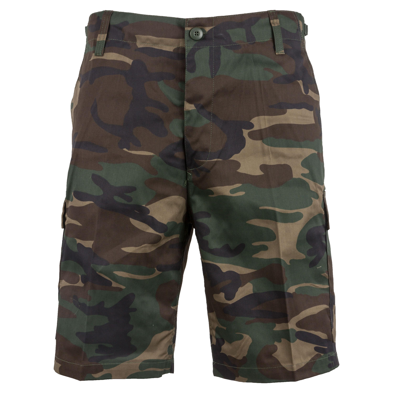 BDU Shorts woodland