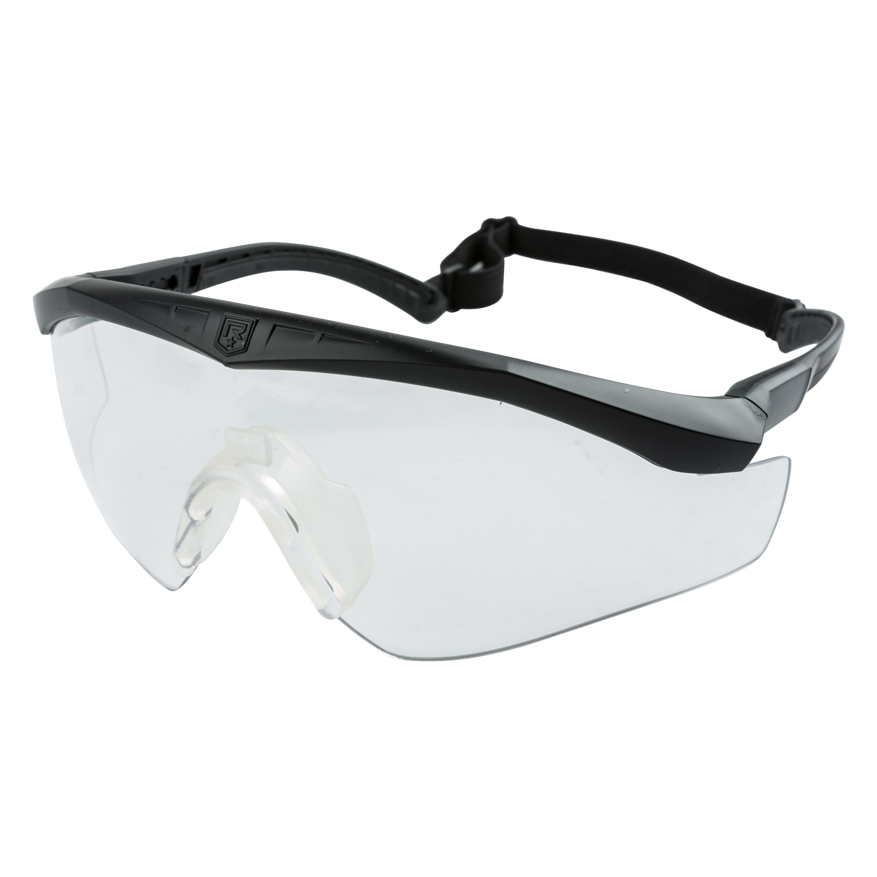 Revision Sawfly Max-Wrap Glasses Basic clear