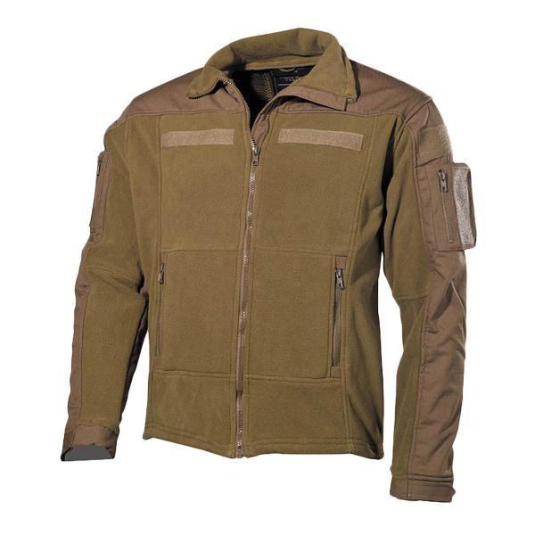 Fleece Jacket Combat coyote tan