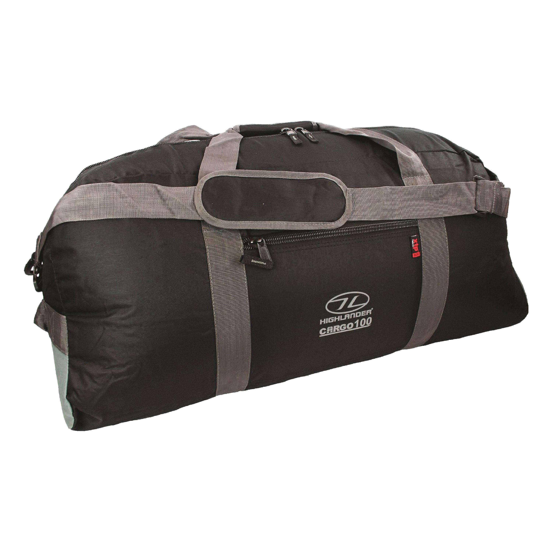 Highlander Travel Bag Cargo 100L black