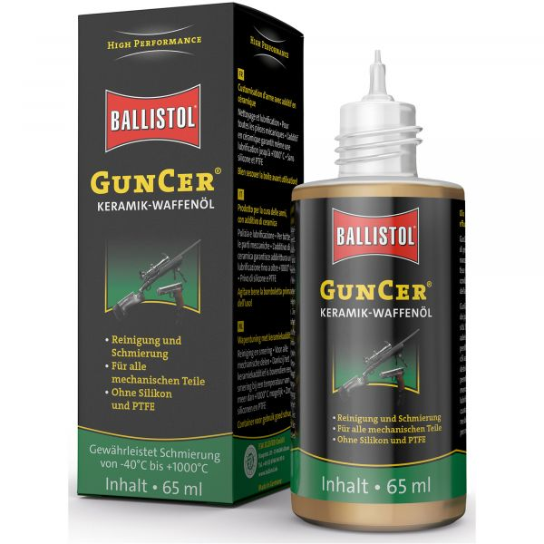 Ballistol GunCer Ceramic-Weapons Oil 65 ml