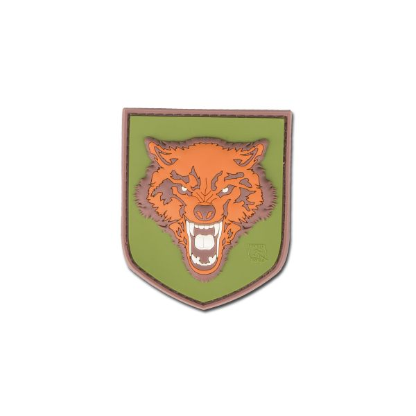 3D-Patch Wolf small full color