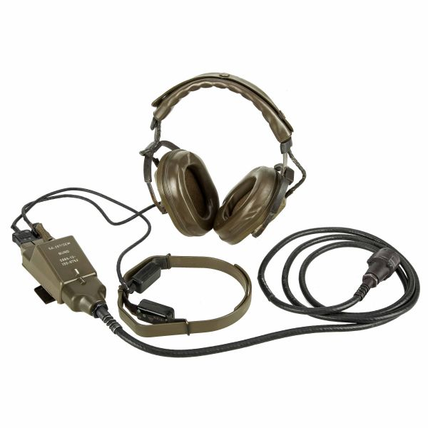 Used BW Radio Headset Telemit