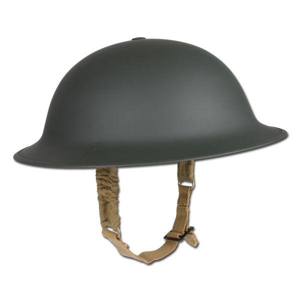 British Brodie Steel Helmet WWII