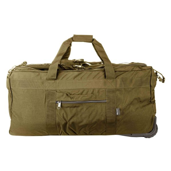 Tactical Cargo Bag With Wheels coyote