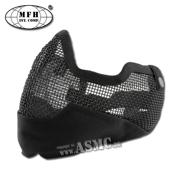 Face Mask MFH Airsoft black
