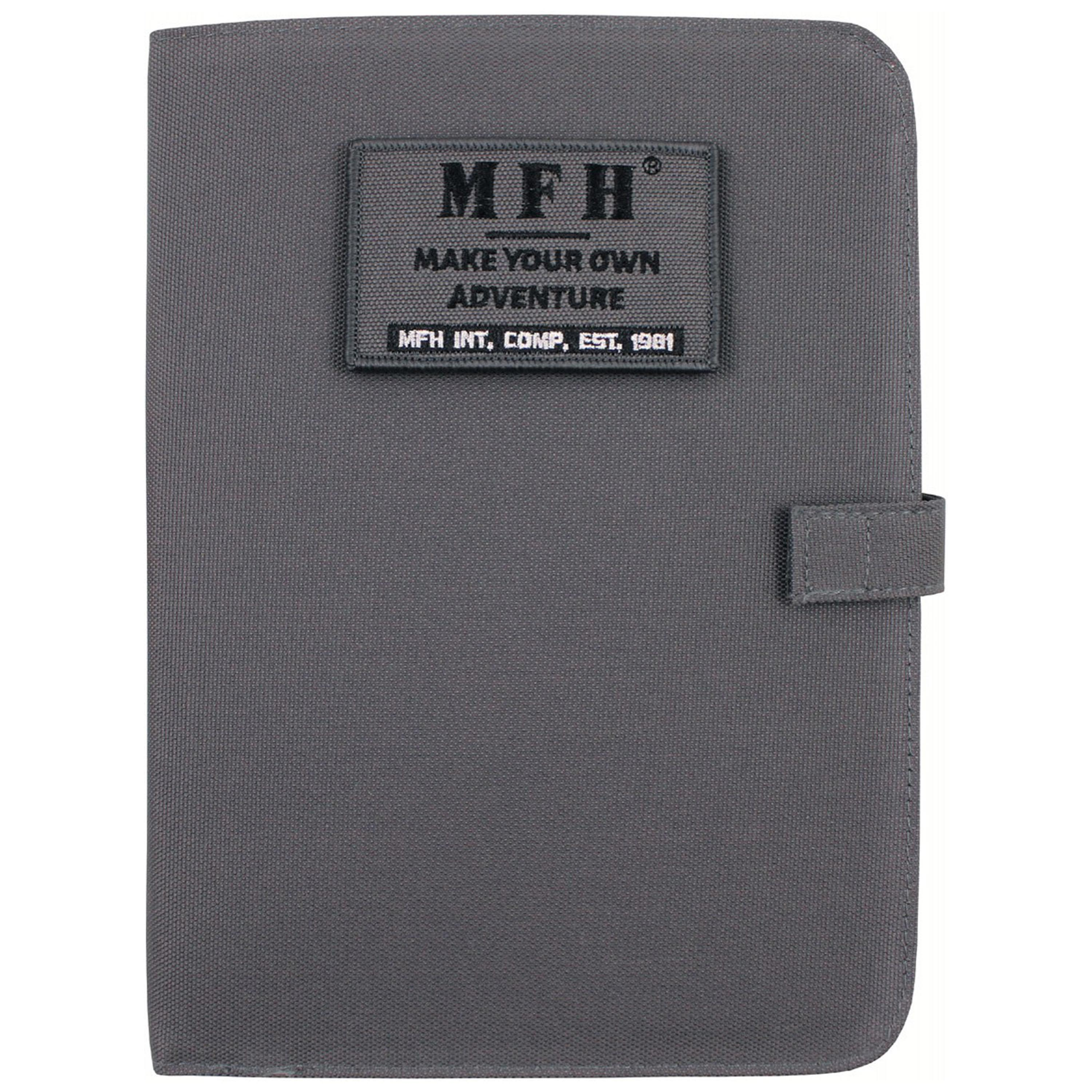 MFH Ring Planner/Notebook A5 urban gray
