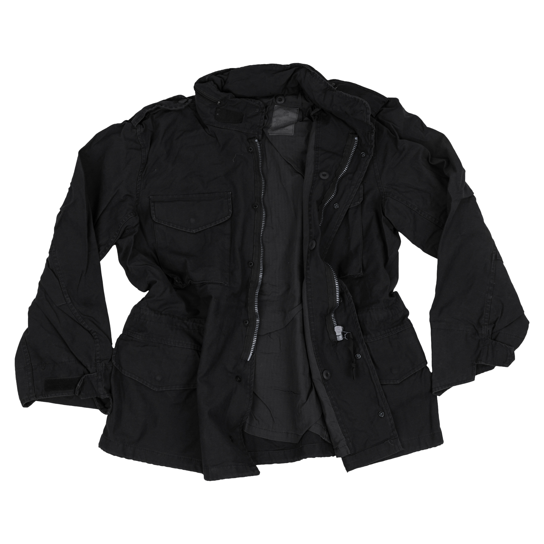Field Jacket M-65 MMB Washed black