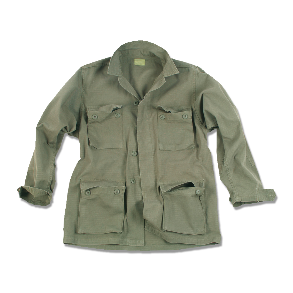 BDU Style Field Blouse Stonewashed olive