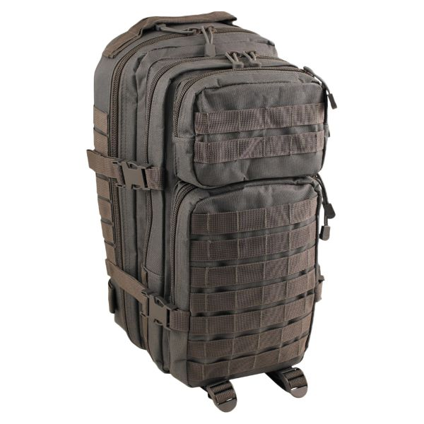 MFH Backpack US Assault I Basic urban gray