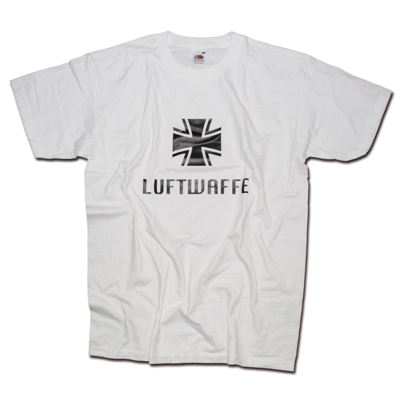 T-Shirt Milty Luftwaffe white