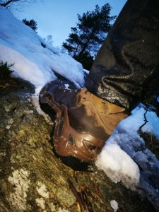Extrem in Norwegen...Top Stiefel