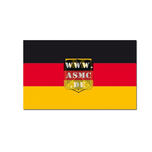 Flag Germany with eagle