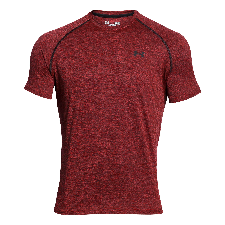Under Armour T-Shirt Tech SS Tee red II