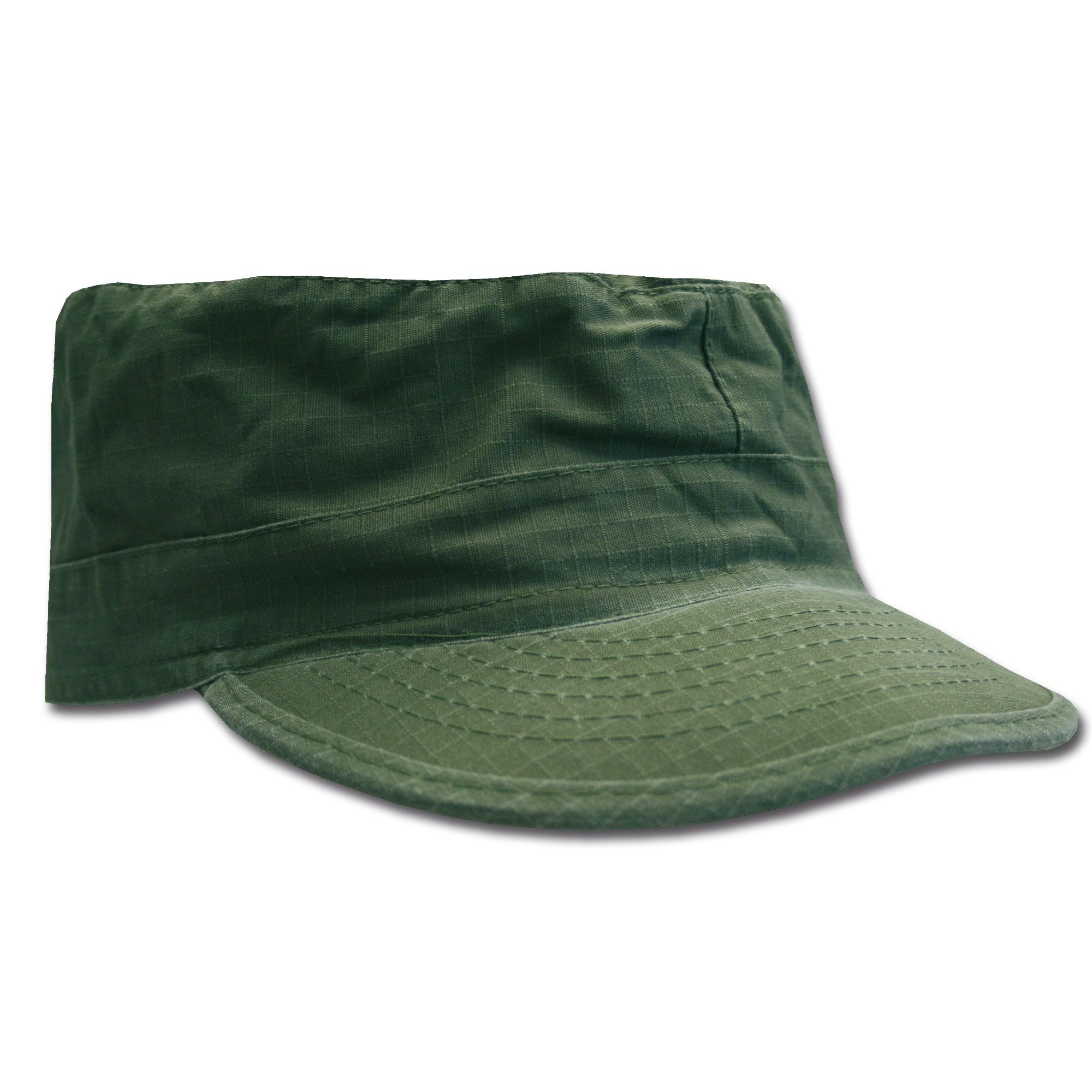 BDU Cap olive washed Ripstop
