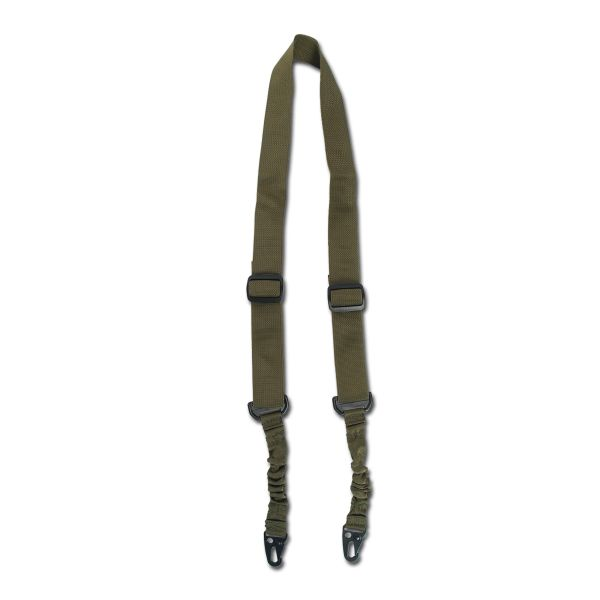 Mil-Tec 2-Point Tactical Rifle-Carrying-Strap with Bungee olive