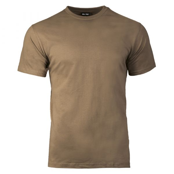 Mil-Tec T-Shirt US Style coyote brown