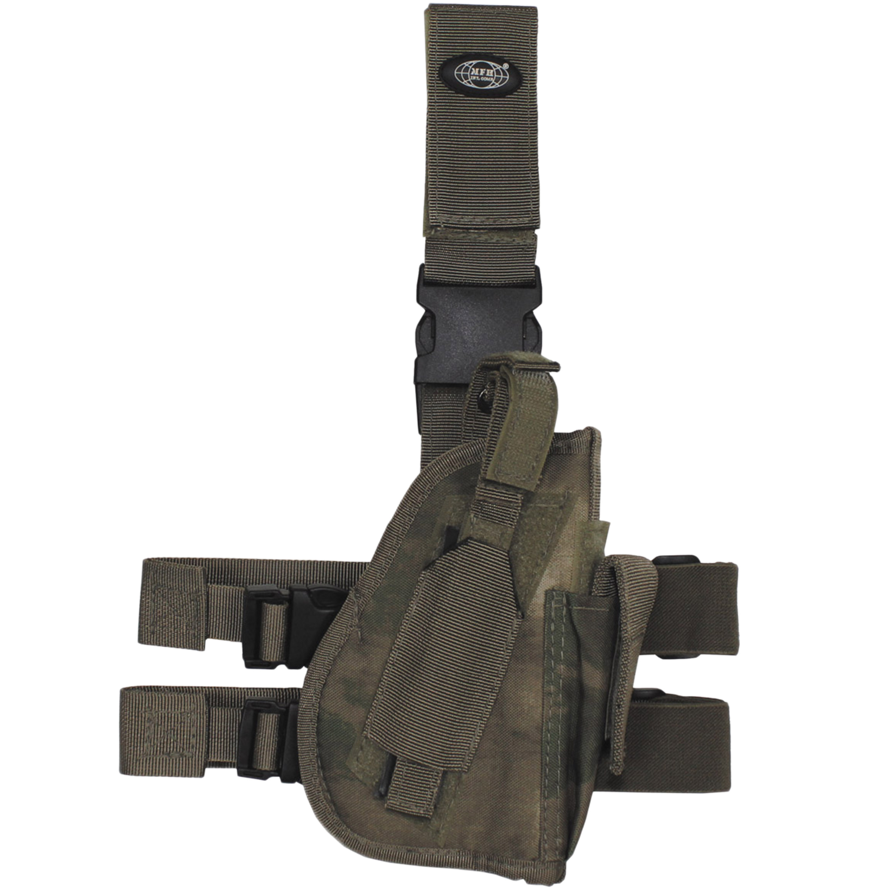 MFH Pistol Leg Holster Right HDT-camo FG
