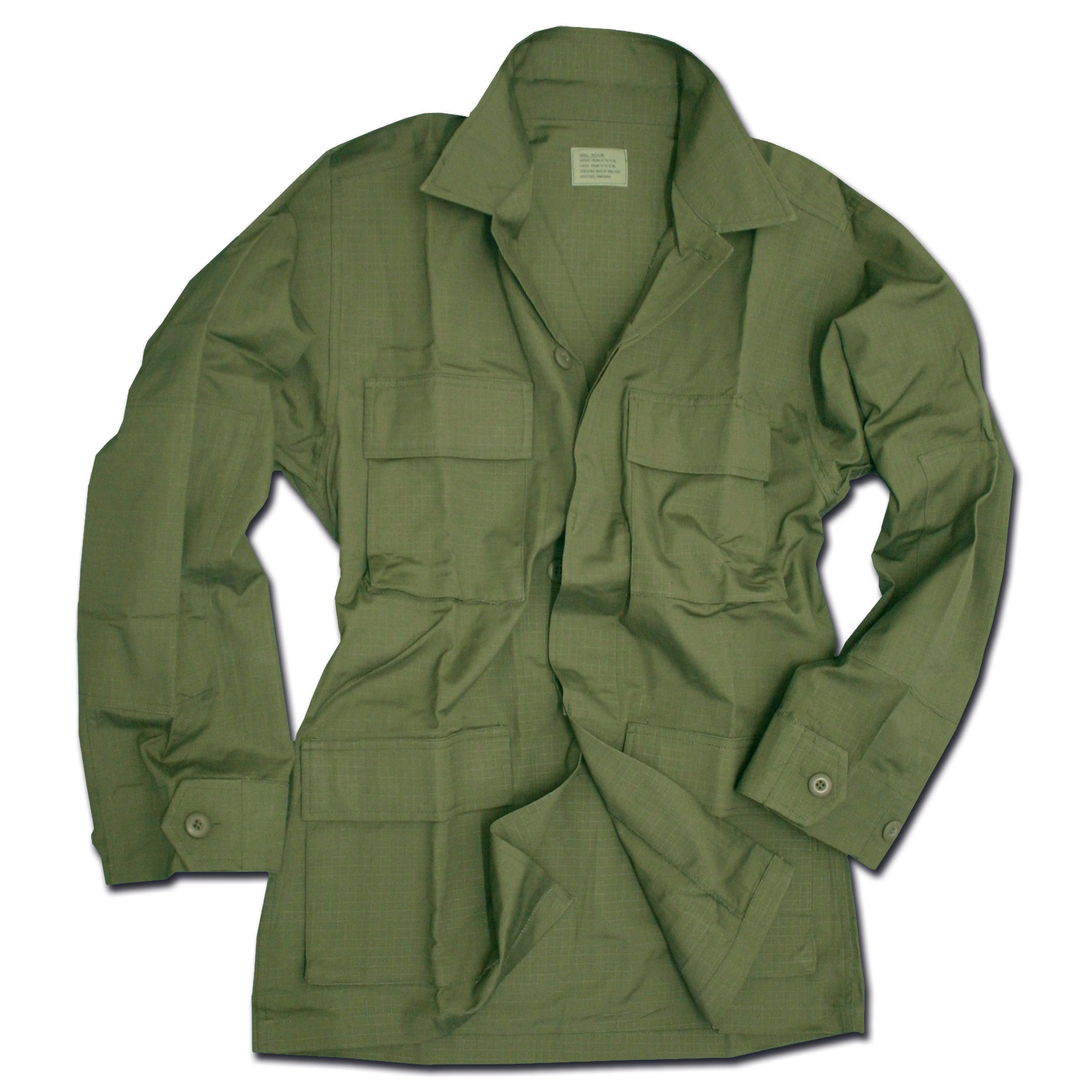 BDU Style Blouse olive ripstop