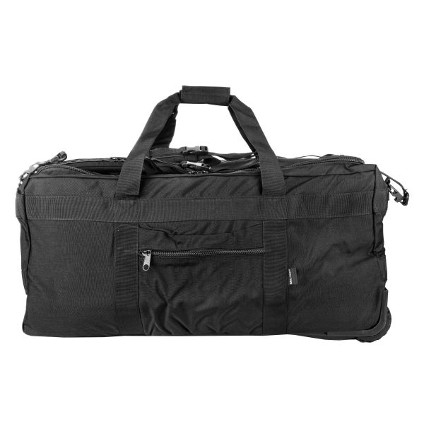 Tactical Cargo Bag With Wheels black