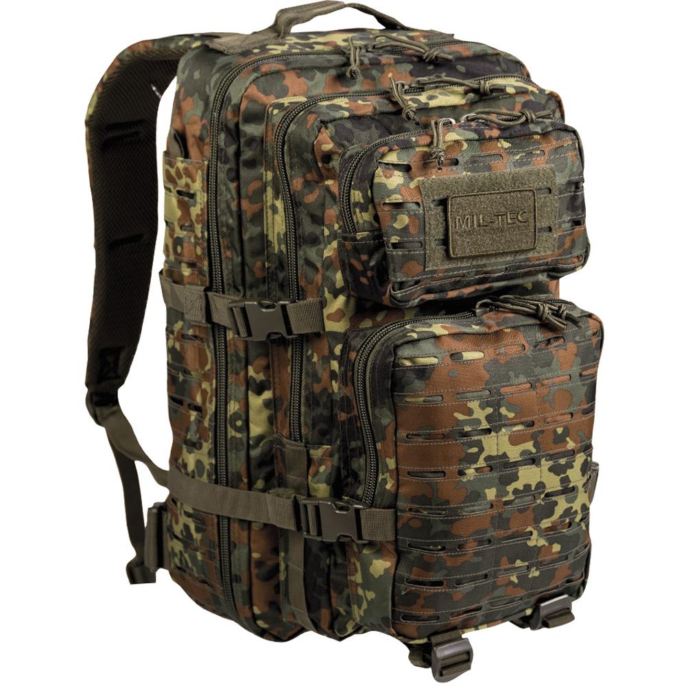 Backpack U.S. Assault Pack Laser Cut LG flecktarn