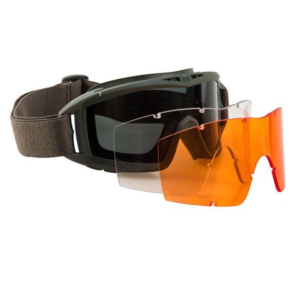 Revision Goggles Desert Locust Mission Kit olive orange