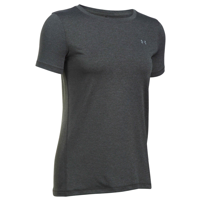 Under Armour Fitness Ladies Armour Shirt dark gray