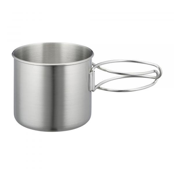 Tatonka Cup with Grip 500 ml Stainless Steel