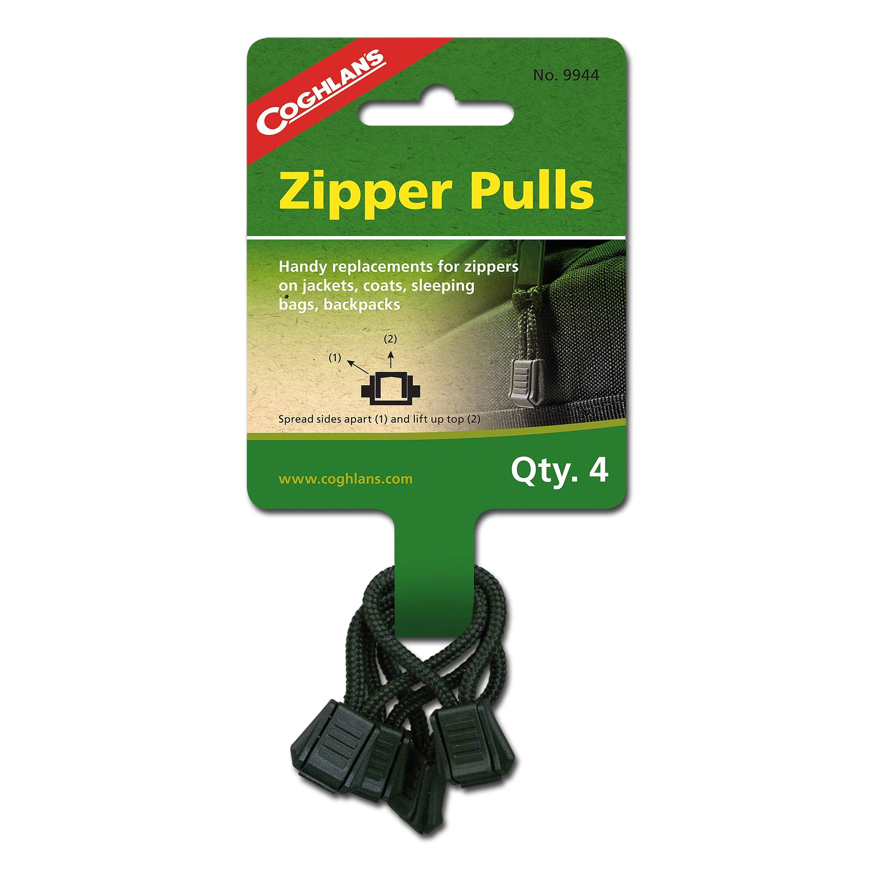 Zipper Pulls Coghlans