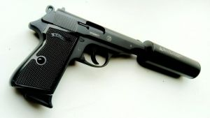 Walther PP suppressed