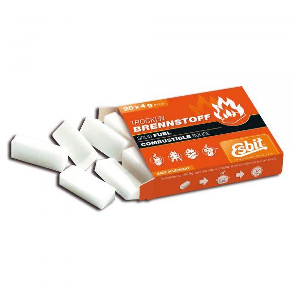 Esbit Solid Fuel Tablets 20 x 4 g