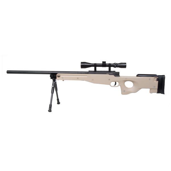 GSG Airsoft MB01 Sniper Set Spring Powered 1.8 J tan