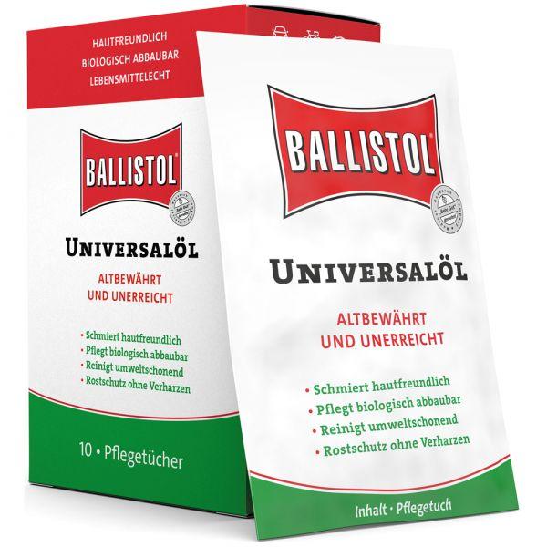 Ballistol Wipes 10 pcs Box