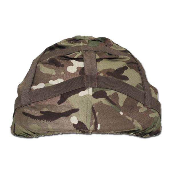 British Helmet Cover MTP camo used