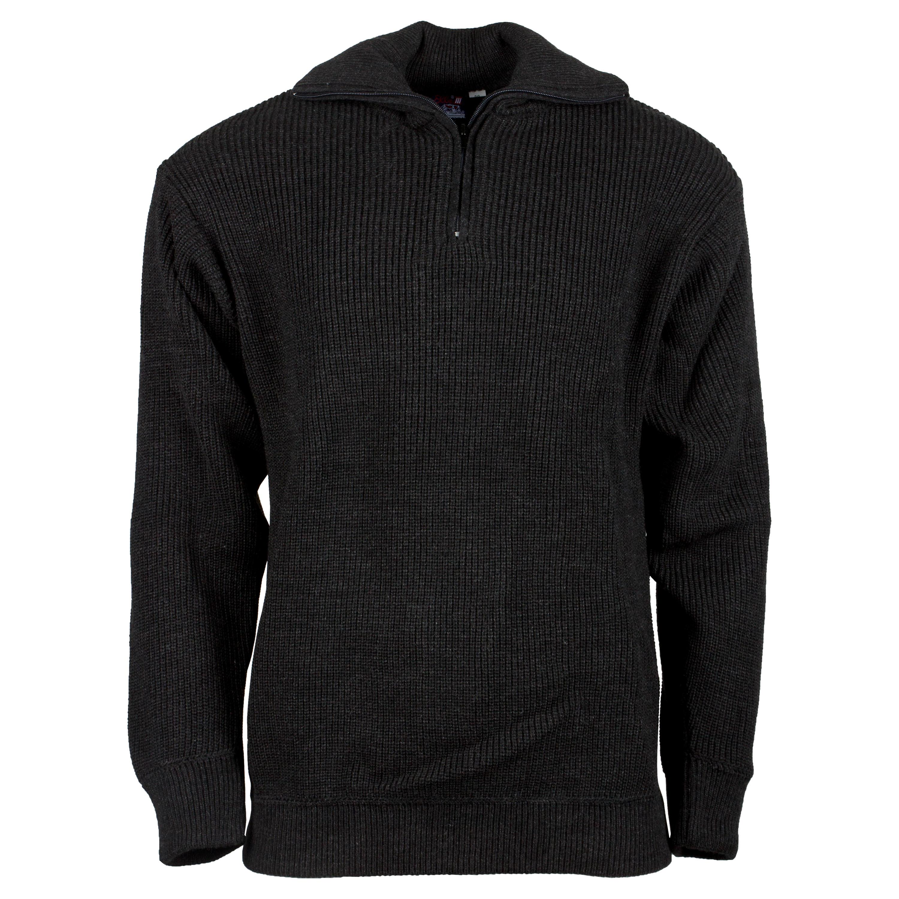 Pullover Troyer Acrylic gray