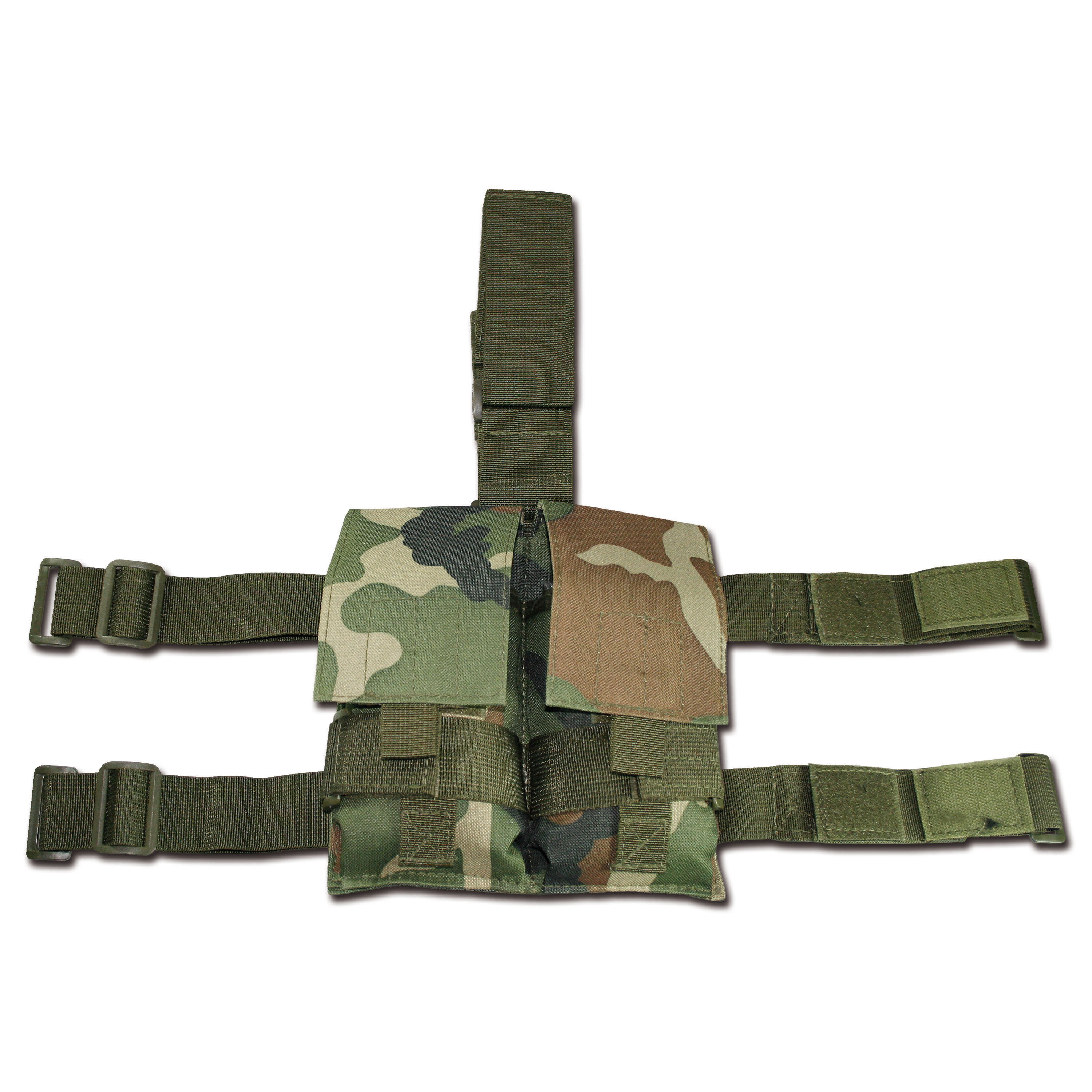 Tactical Magazine Pouch woodland