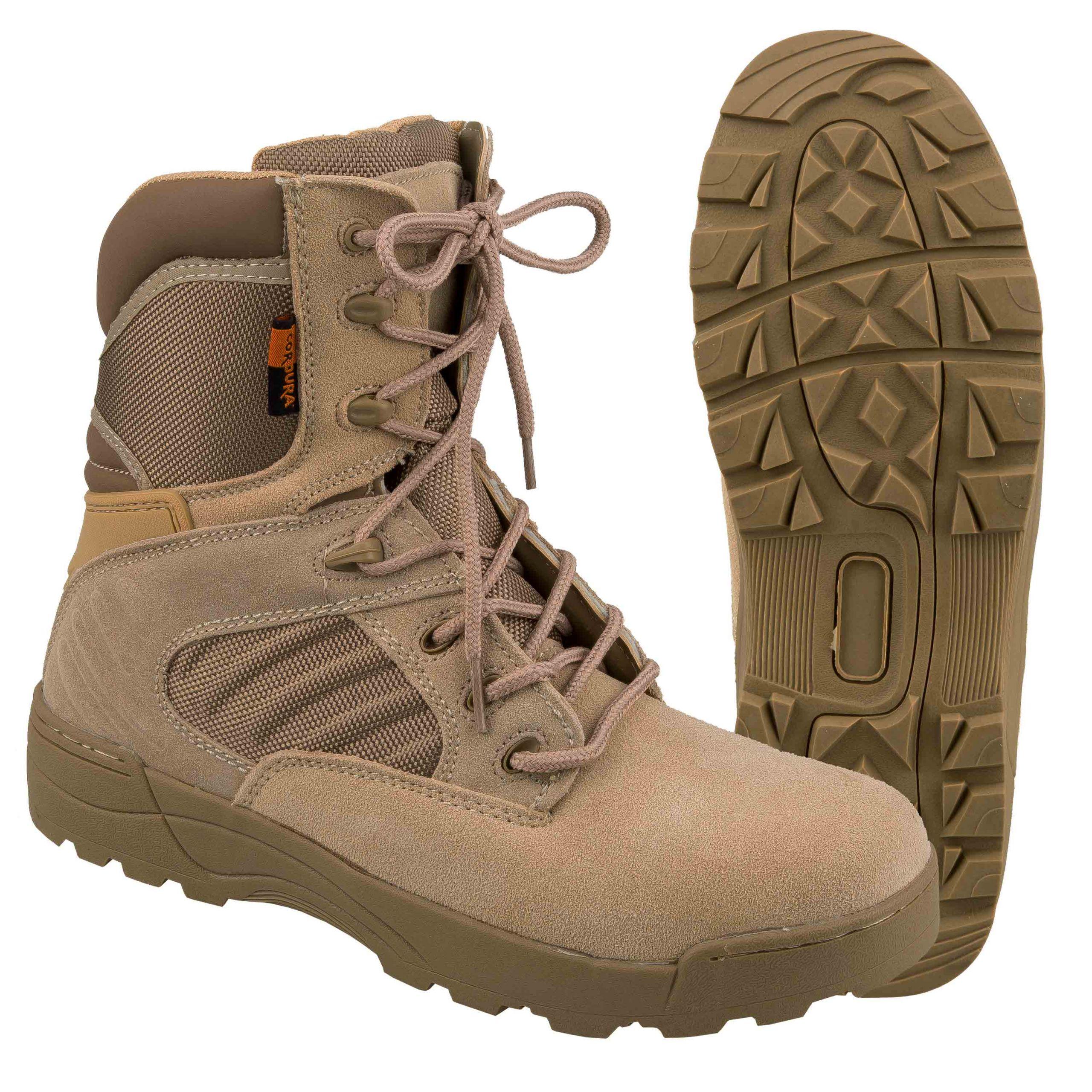 Highlander Combat Socks Mens Walking Hiking Outdoor Military Olive Black