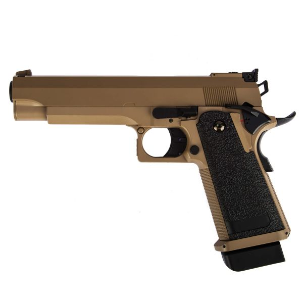 Cyma Airsoft Pistol Hi-Capa 5.1 AEP tan