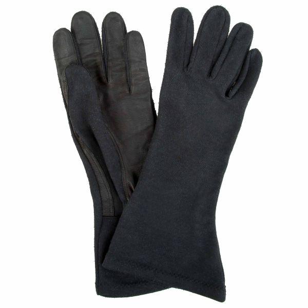 Used BW Pilot Gloves Aramid Leather black