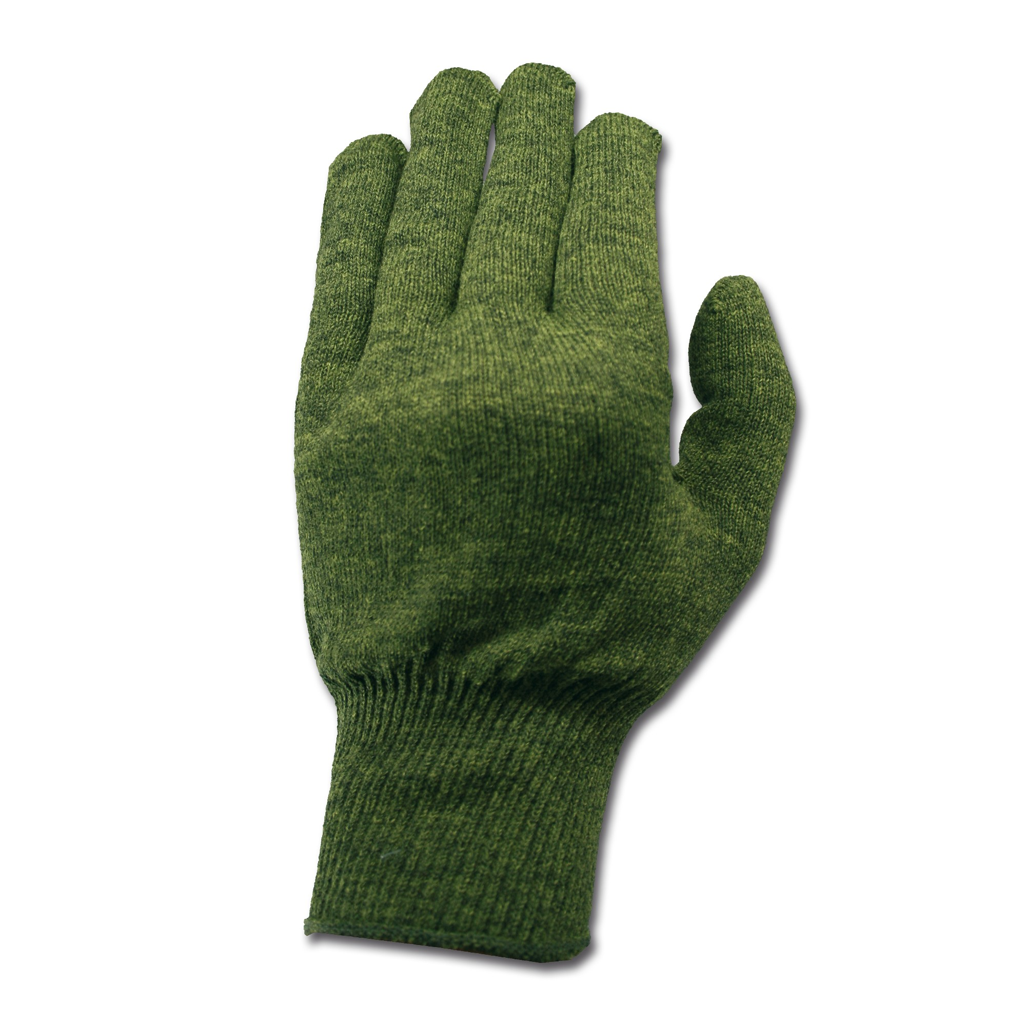 Glove Liners Polypro olive