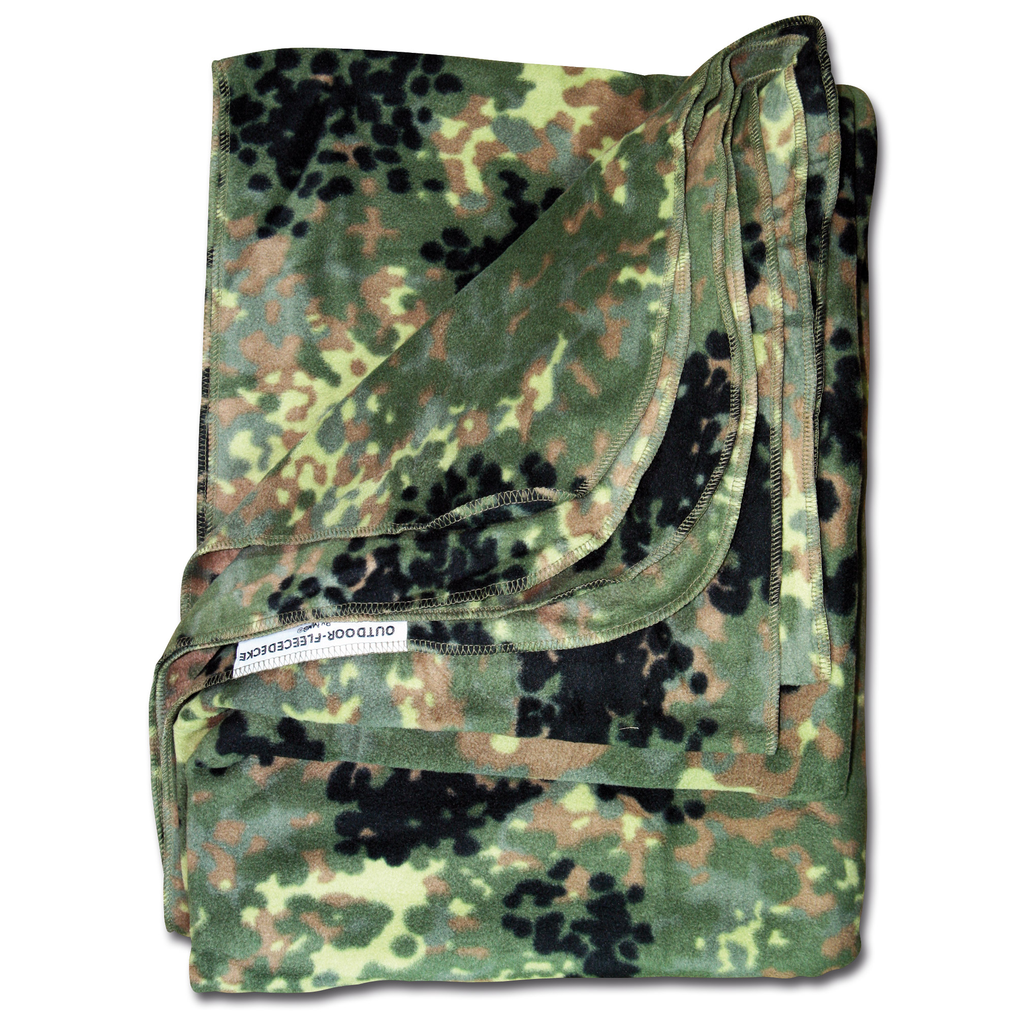 Fleece Blanket Outdoor flecktarn